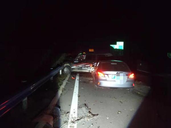 开封高速交警惩罚三车事故 意外牵出一起醉驾案件