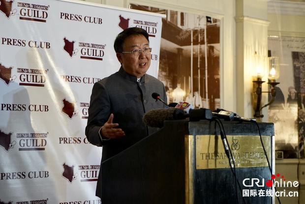 中国驻肯尼亚大使强调没有一个国家因为与中国合作而陷入债务危机