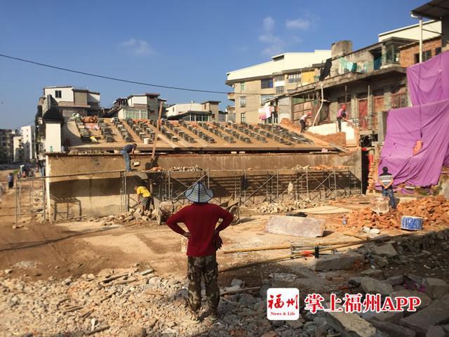 长乐和平街特色历史文化街区建设项目全力攻坚