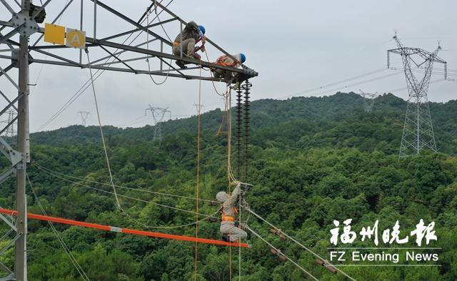 """24日午间首次突破""""900万千瓦"""" 福州地区用电负荷创新"""